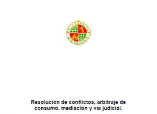 Resolución de conflictos, arbitraje de consumo, mediación y vía judicial. Cristóbal Fábrega Ruiz