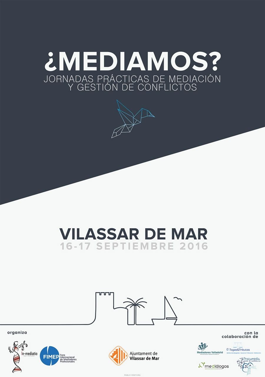 Jornadas prácticas mediación/ gestión de conflictos: Vilassar de Mar