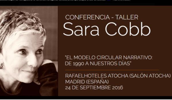 Conferencia de la mediadora Sara Cobb en Madrid