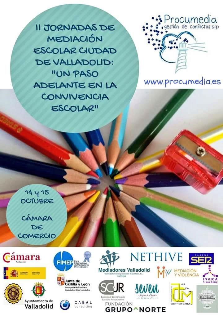 II Jornadas de Mediación escolar, Valladolid. Procumedia