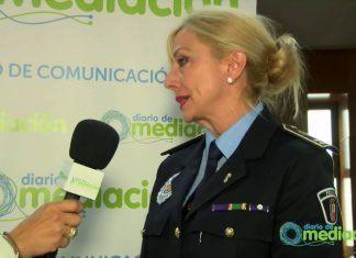 Dña. Julia González Calleja, Intendente Jefe de la Policía Municipal de Valladolid