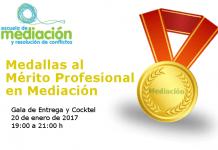 Entrega de las Medallas al Mérito Profesional en Mediación
