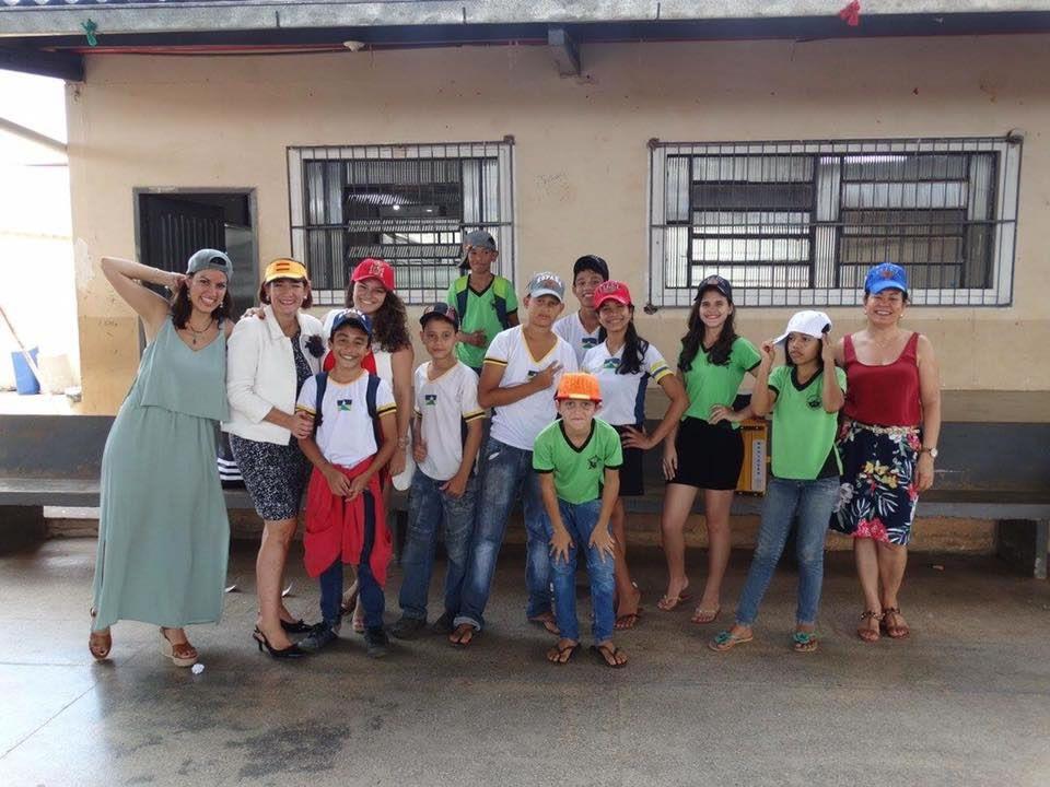 Con los niños Mediadores, Proyecto Sembrando la Cultura de la paz