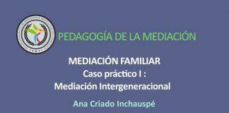 Mediación Familiar, Caso práctico Mediación Intergeneracional