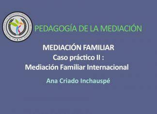 Mediación Familiar Internacional, análisis de un caso real