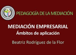 Mediación Empresarial, ámbitos de aplicación