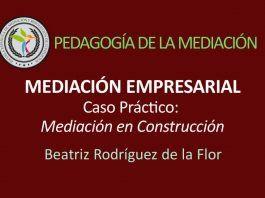 Caso práctico de mediación en construcción