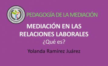 Significado de la mediación en relaciones laborales