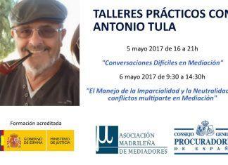 Formación continua para Mediadores con Antonio Tula