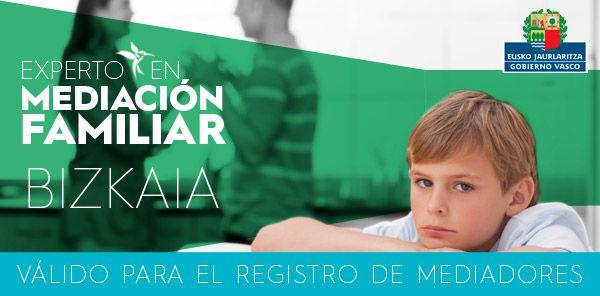 Curso de Experto Universitario en Mediación Familiar en Bizkaia