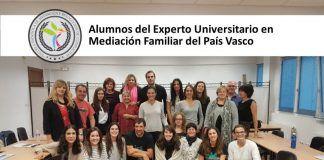 Alumnos del Experto en Mediación Familiar del País Vasco
