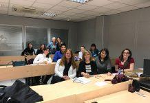 Alumnos del Experto en Mediación Familiar de la Comunidad de Madrid
