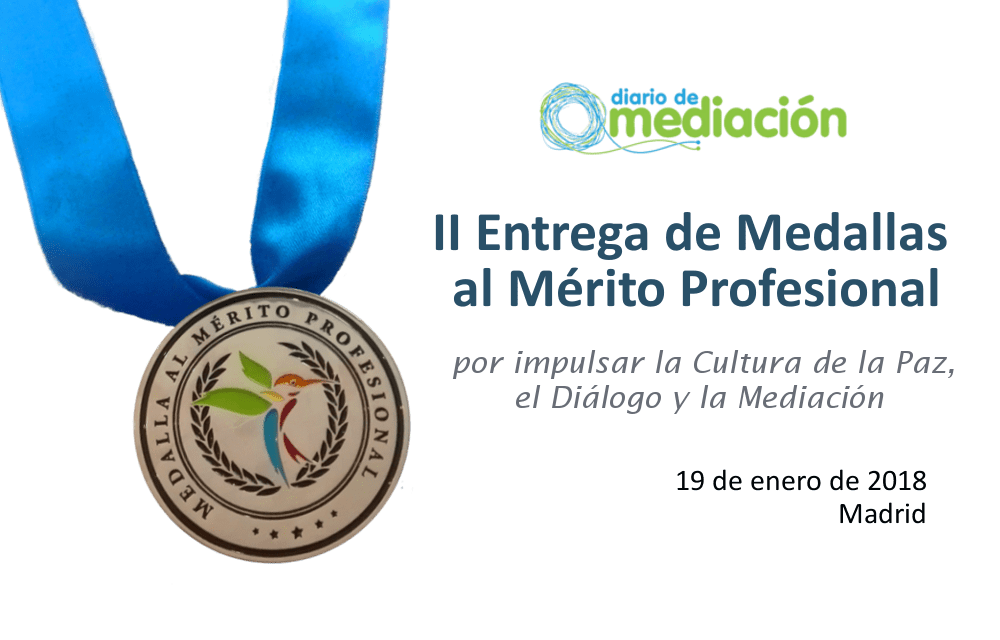 Diario de Mediación entrega las Medallas al Mérito Profesional 2018