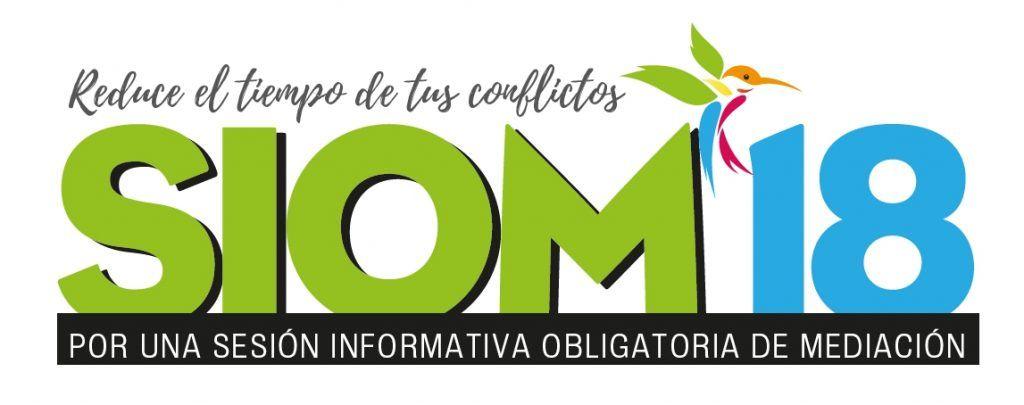 SIOM18 Por una Sesión Informativa Obligatoria de Mediación