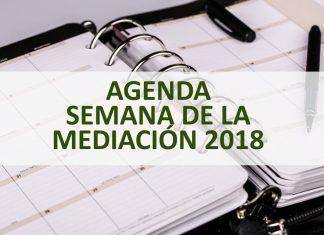 Agenda Semana de la Mediación 2018