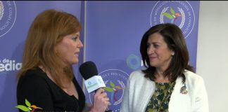 Concha Burgos, rectora de UDIMA, en la Entrega de Medallas al Mérito Profesional 2018