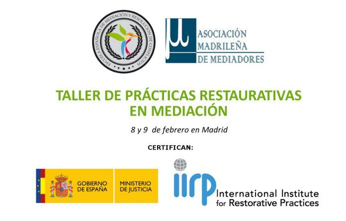 taller de prácticas restaurativas, imparte Inmaculada Gabaldón Gabaldón