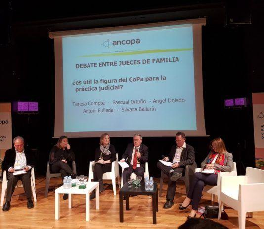 Congreso coordinación de parentalidad Barcelona ANCOPA