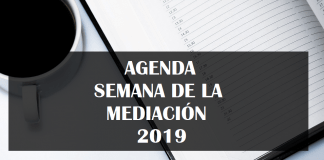 Agenda Semana de la Mediación 2019