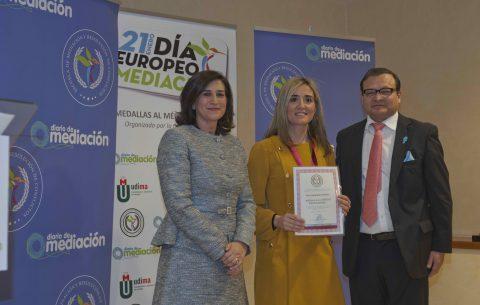 La Dirección de Justicia del Gobierno de La Rioja recibe la Medalla al Mérito Profesional 2019