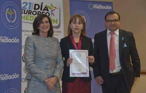 Francisca Fariña, premiada por Diario de Mediación