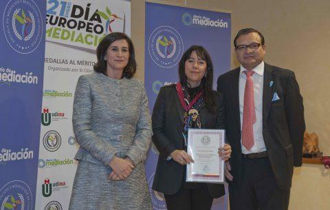 Helena Soleto premiada con la Medalla al Mérito Profesional 2019