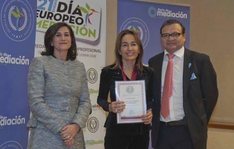Anna Vall Rius premiada por Diario de Mediación