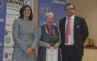 Medalla Diario de Mediación otorgada a Núria Villanueva Rey