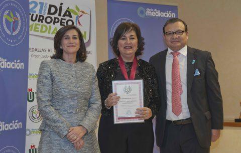 Inmaculada Gabaldón Gabaldón Medalla al Mérito Profesional 2019