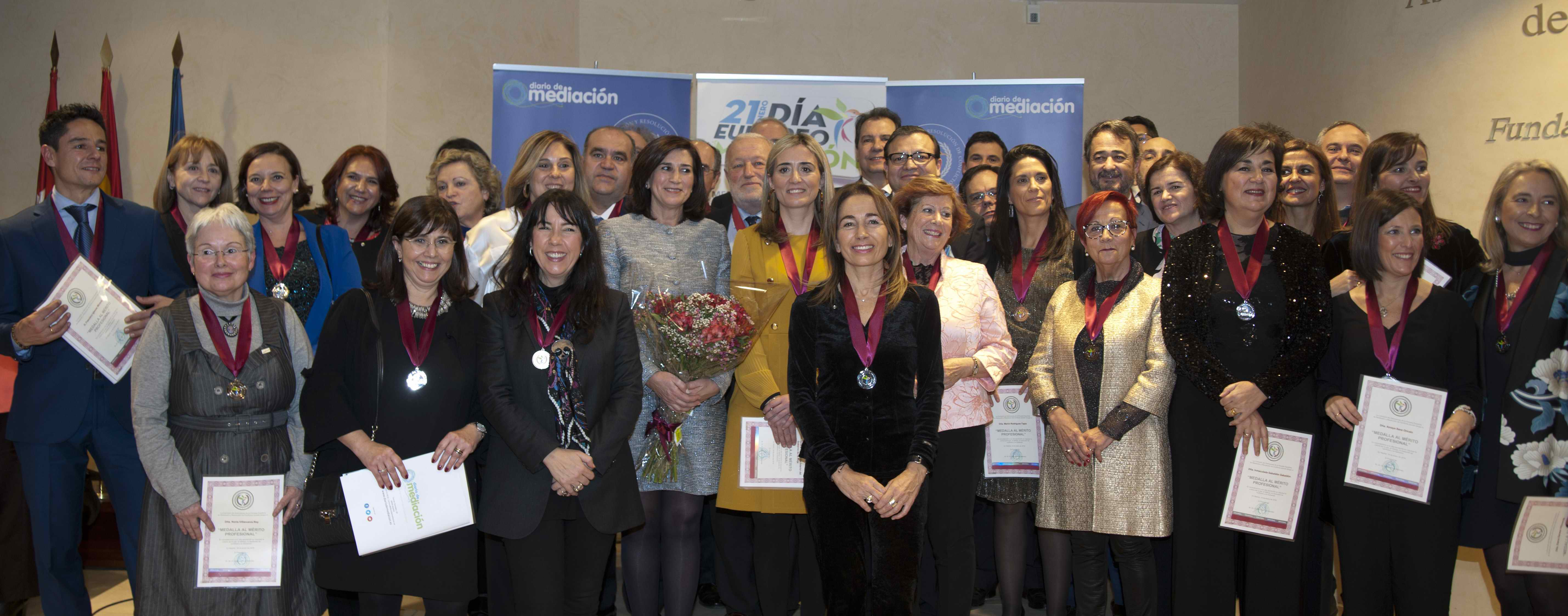 Medallas al Mérito Profesional 2019 Diario de Mediación