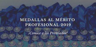 Premiados Medallas Mérito Profesional 2019