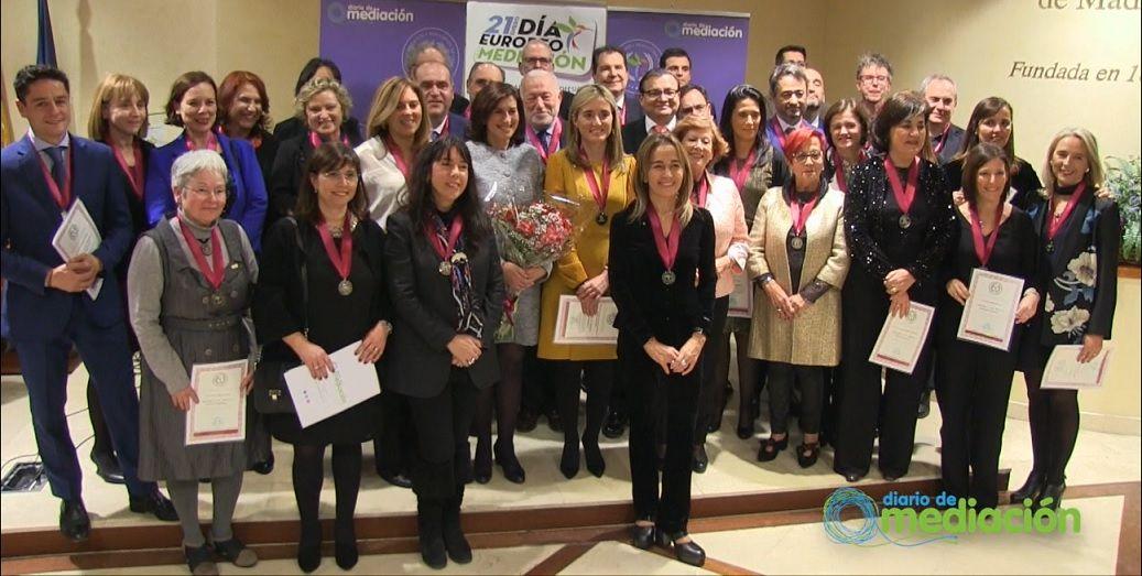Premiados Medallas al Mérito Profesional 2019 Diario de Mediación