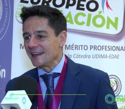 El psicólogo y mediador Francisco Iglesias, Medalla al Mérito Profesional