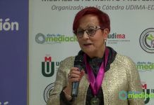 La presidenta de UNAF, Ascensión Iglesias, reconocida con la medalla al Mérito Profesional