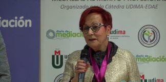 La presidenta de UNAF, Ascensión Iglesias, reconocida con la medalla al Mérito Profesional
