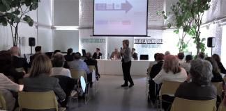 Trinidad Bernal durante la presentación de la nueva guía de ATYME