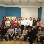 Alumnos del taller práctico de mediación