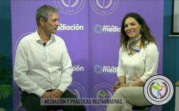 Jean Schmitz y Carmen Capilla hablan de las diferencias entre mediación y justicia restaurativa
