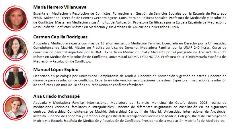 Profesores Mediación Castilla y León