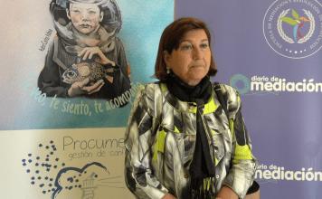 Concejala de educación de Valladolid, María Victoria Olmo