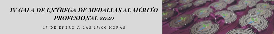 IV GALA DE ENTREGA DE MEDALLAS AL MÉRITO PROFESIONAL