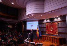 Carlos Lesme en el acto del CGPJ Mediación