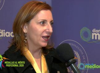 LA PRESIDENTA DE GEME ROSALIA FERNANDEZ ALAYA