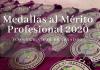 premiados con la medalla al mérito profesional 2020
