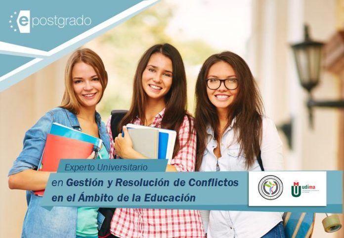 Experto en Gestión y Resolución de Conflictos en el Ámbito Educativo